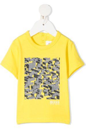 HUGO BOSS Graphic print short-sleeved T-shirt