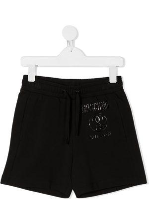 Moschino Tonal-logo track shorts