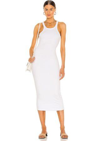 LnA Skinny Racer Midi Dress in