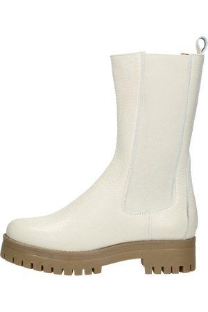 Shoecolate Chelsea Boots Gebroken Wit