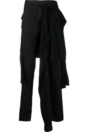 RAF SIMONS T-shirt waist slim-fit jeans