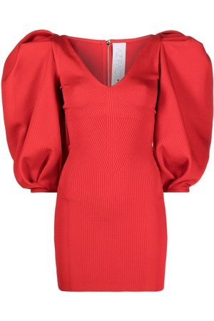 AZ FACTORY MyBody puff-sleeve dress