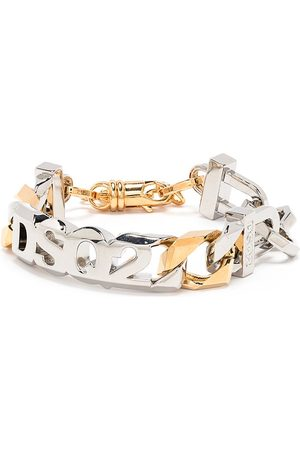 Dsquared2 Two-tone logo bracelet