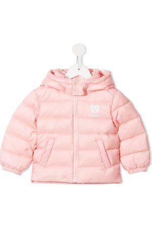 Moschino Teddy Bear zip-up puffer jacket