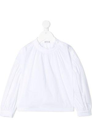 Il gufo Ruffle-trim long sleeve sweatshirt