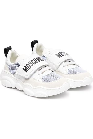 Moschino Logo-print touch-strap sneakers