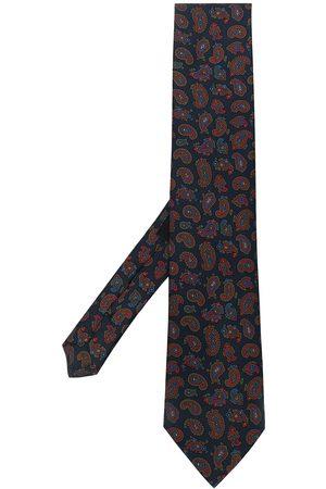 Etro Heren Vlinderdassen - Paisley-print silk tie