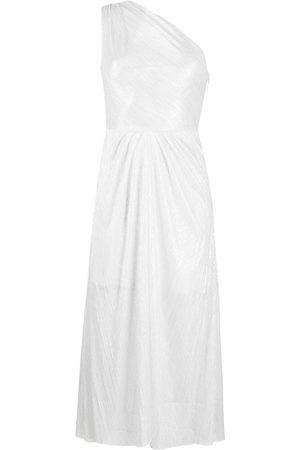 IRO Veiya semi-sheer asymmetric dress