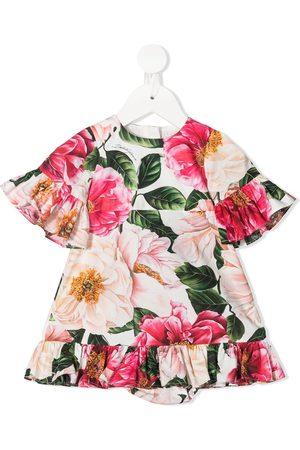 Dolce & Gabbana Floral-print ruffled dress