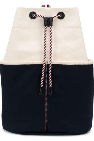Thom Browne Two-tone bucket backpack