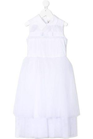 Simonetta Bow-detail cotton dress