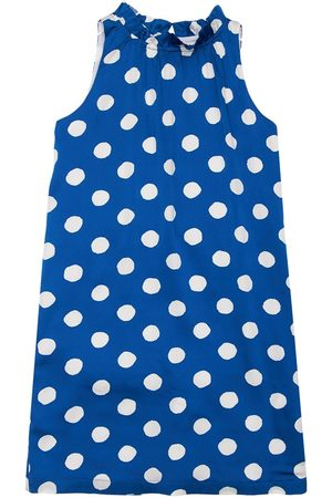 Moschino All Over Print Cotton Long Dress