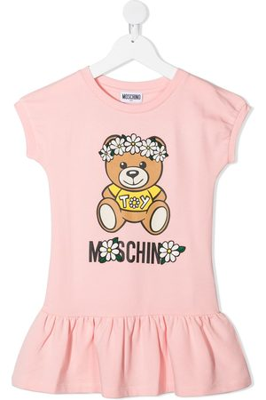 Moschino Teddy Bear-print dress