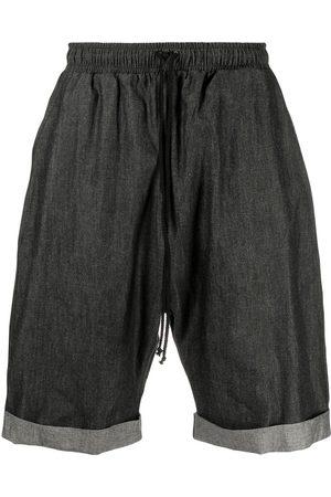 Alchemy Drawstring-waist denim shorts