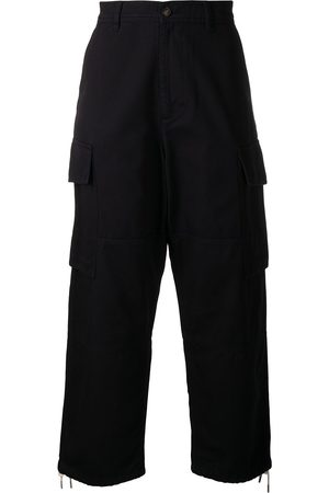 Ami Wide-leg cargo trousers