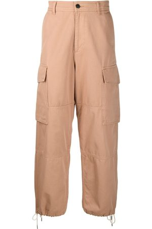 Ami High waist cargo trousers