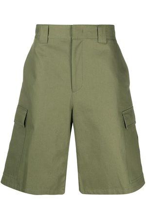 Msgm Heren Shorts - Wide-leg cargo shorts