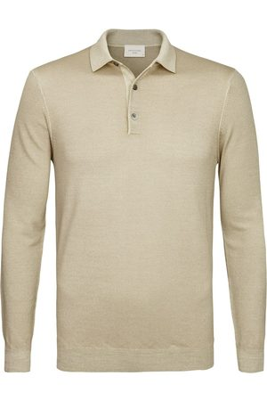 Profuomo Heren Poloshirts - Heren lange mouw polo