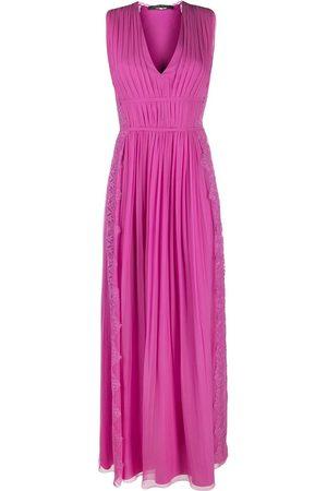 Alberta Ferretti Dames Feestjurken - Lace-trim maxi dress