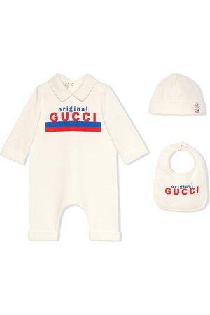 Gucci Original Gucci-print three-piece set