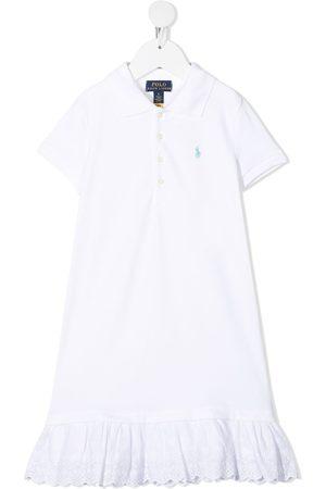 Ralph Lauren Meisjes Poloshirts - Flounce hem polo shirt