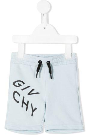 Givenchy Shorts - Logo-print jersey shorts