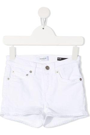 Dondup Tassel hem denim shorts