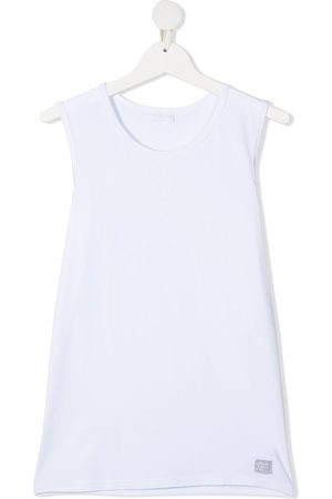 Story Loris TEEN logo-patch sleeveless top