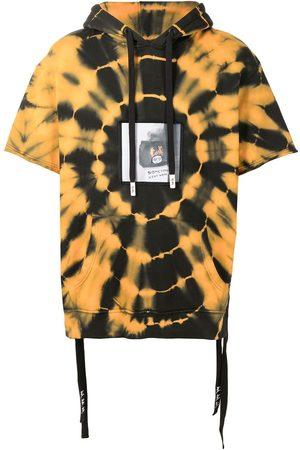 HACULLA Heren Korte mouw - Tie-dye short sleeve hoodie