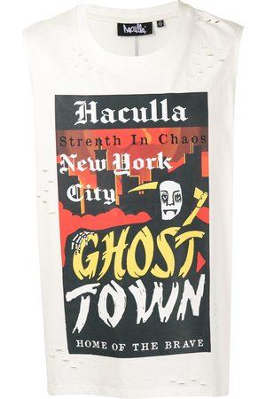 HACULLA Heren Gilets - Ghost Town sleeveless T-shirt