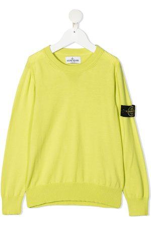 Stone Island Jongens Sweaters - Logo sleeve sweatshirt