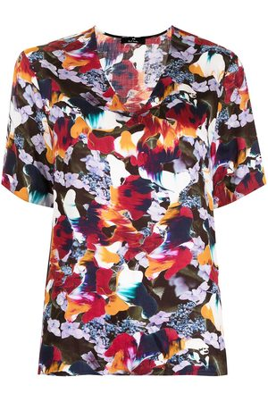 Paul Smith Marble Floral print t-shirt