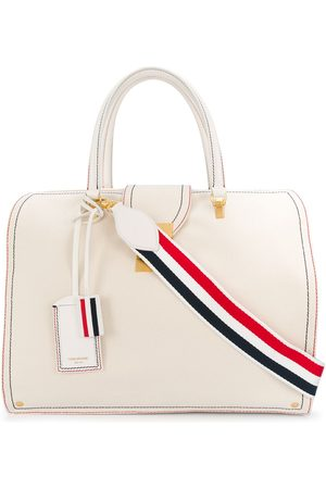 Thom Browne Stripe detail tote bag