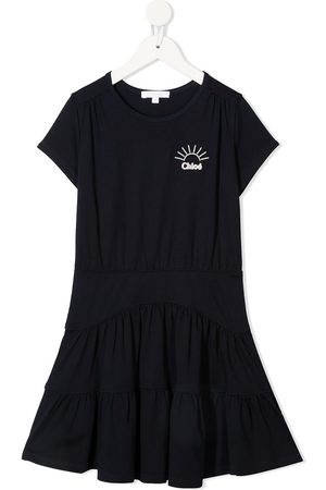 Chloé Logo-printed T-shire dress