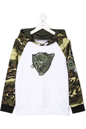 Givenchy Camouflage-print pullover hoodie