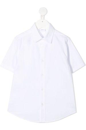 HUGO BOSS Short-sleeve cotton shirt