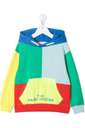 The Marc Jacobs Colour-block drawstring hoodie
