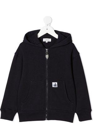 Lanvin Logo zip-up hoodie