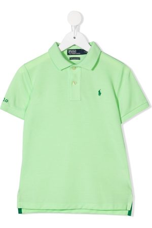 Ralph Lauren Jongens Poloshirts - Logo embroidered polo shirt