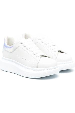 Alexander McQueen Lace-up low-top wedge sneakers