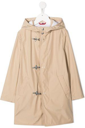 FAY KIDS Hooded parka coat