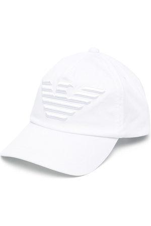 Emporio Armani Heren Petten - Raised logo baseball cap