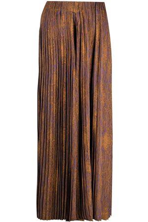 HENRIK VIBSKOV Jelly plisse palazzo trousers