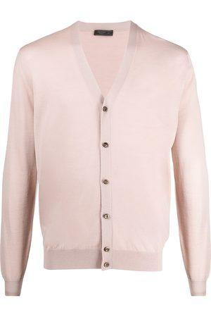 Prada Heren Cardigans - Buttoned wool cardigan