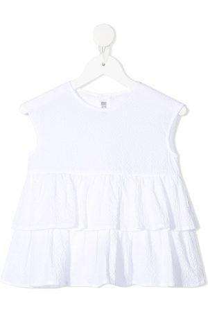 Il gufo Ruffle-trim sleeveless blouse