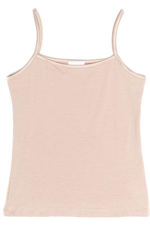 La Perla Meisjes Tops - Satin-trimmed sleeveless top