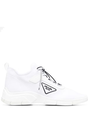 Prada Logo-patch low-top sneakers