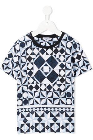 Dolce & Gabbana Jongens T-shirts - Majolica print T-shirt
