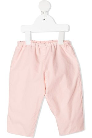 BONPOINT Elasticated-waist cotton trousers