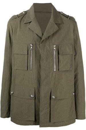 Balmain Multi-pocket military jacket